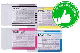 <b>Картридж Epson T6133</b> (magenta) 110 мл C13T613300 купить в ...