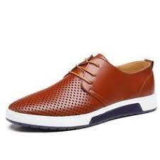 Merkmak New <b>2017 Men</b> Casual Shoes Leather <b>Summer</b> ...