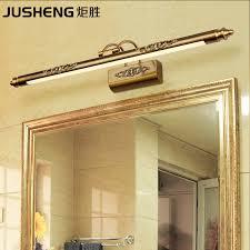<b>JUSHENG</b> Classic Antique Brass <b>LED</b> Wall <b>Lamps</b> in Bathroom with ...
