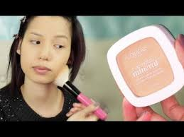 new l 39 oreal true match mineral powder review demo
