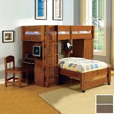 harford junior loft twintwin bed set bunk bed computer desk
