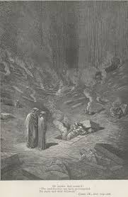 dante s inferno and contrapasso progressive culture scholars sepulchers of flame in the city of dis by gustave dore project gutenberg