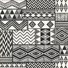 <b>Ethnic</b> boho seamless pattern in <b>african style</b> on black background ...