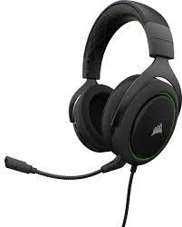 <b>Corsair</b> Gaming HS50, Green <b>игровая гарнитура</b> — купить в ...