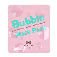 <b>Тканевая маска</b> Rivecowe Bubble Mask Pack. Углеродная <b>глубоко</b> ...