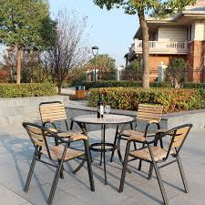 outdoor patio furniture wood wrought iron garden furniture balcony outdoor leisure combination living room balcony outdoor furniture