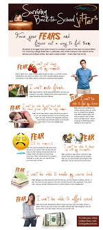 surviving the back to college jitters infographic college u curbing the college bound jitters