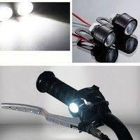 2Pcs Motorcycle <b>Light</b> White LED Motorcycle Handlebar <b>Spotlight</b> ...