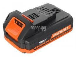 Купить <b>Аккумулятор Patriot BL202 20V</b> 2Ah 830201200 по низкой ...