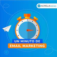 Un minuto de Email Marketing