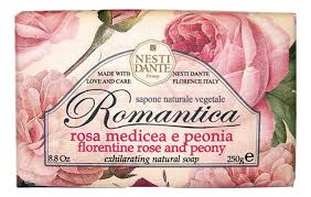 Купить <b>мыло Romantica Florentine</b> Rose &amp; Peony Soap 250г