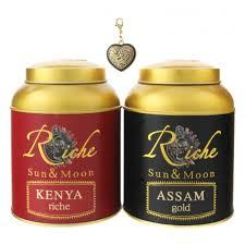 Подарочный набор <b>Riche Natur</b> (<b>чай</b> Ассам 100г+ <b>чай</b> Кения 100г ...