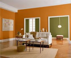 Painting Living Room Walls Two Colors Wall Paint Colour Bination For Living Room