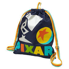 Pixar Lamp and Pixar Ball <b>Cinch Sack</b> | shopDisney