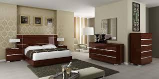 hign italian bedroom zoom dream walnut zoom