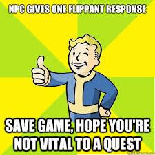 Fallout new vegas memes | quickmeme via Relatably.com