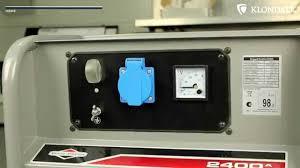 <b>Бензиновый генератор BRIGGS &</b> STRATTON 2400A (2 ...