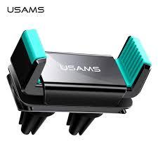 USAMS <b>Car Phone</b> Holder For iPhone X XS 8 7 6 Samsung S10 S9 ...