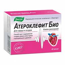 <b>Атероклефит био</b> капсулы 250мг <b>60</b> шт. эвалар купить по ...