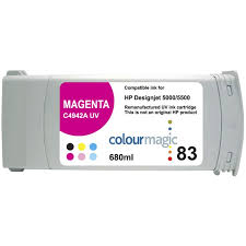 <b>HP DESIGNJET 83</b> C4940A <b>BLACK</b> UV DESIGNJET INK ...