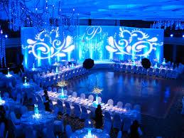 receptions wedding reception and blue weddings on pinterest blue wedding uplighting