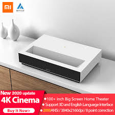 Original 2020 Xiaomi <b>Fengmi Laser Projection TV</b> 4K Cinema ALPD ...