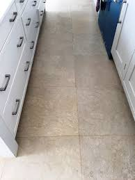 limestone tiles kitchen: limestone kitchen floor henley on thames after cleaning