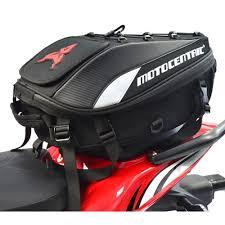 2019 New Waterproof <b>Motorcycle</b> Tail Bag <b>Multi functional Durable</b> ...