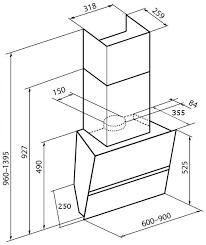 Наклонная <b>вытяжка KHC 69080</b> GN