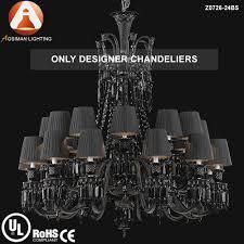 baccarat classical 24 light black crystal chandelier baccarat zenith arm black crystal chandelier