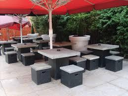 delightful modern patio
