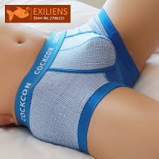 EXILIENS Brand New Men <b>Boxer Mens Underwear Cotton</b> Cueca ...