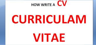 how to write a good cv how to write a good cv