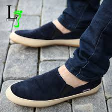 <b>Men</b> Sneakers <b>2019</b> Summer Loafers Breathable <b>Canvas Shoes</b> ...