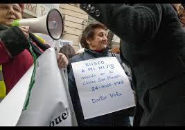 Resultado de imagen de manifestaciones ciudadanas en las setas