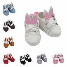 <b>7cm</b> Mini Doll Sneackers For 18 inch Doll <b>Shoes</b> Glitter Canvas ...