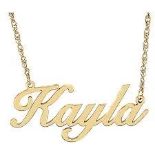 <b>Personalized Name Necklace</b> (Premium Quality) – Ledodi