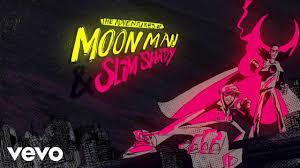 Kid Cudi, <b>Eminem</b> - The Adventures Of Moon Man & <b>Slim</b> Shady ...