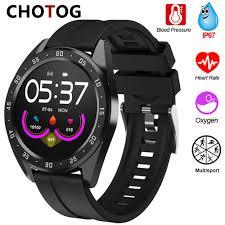 <b>D19 Smart Watch</b> 2020 Men <b>Women</b> Waterproof Heart Rate Blood ...
