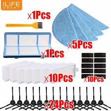 <b>Side Brush Primary Dust</b> filter Hepa Filter Mop pad for chuwi ilife v5 ...