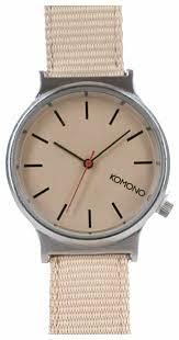 Наручные <b>часы KOMONO Wizard</b> Heritage Series Silver/Desert ...