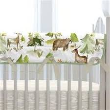 Painted Forest Crib Skirt <b>17</b>-<b>Inch</b> Gathered in 2019 | BABY ...