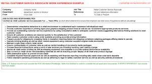 Sales Associate Resume Description   Resume Badak Retail Sales Associate Resume Skills