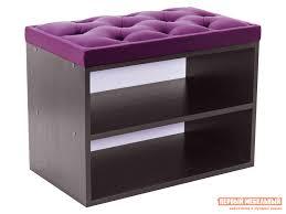 <b>Обувница HD</b> mini 600 Bella 14 Фиолетовый, Венге   Мебель ...