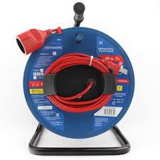 Силовые удлинители на катушке 2.2 кВт