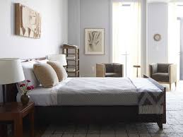 elegant gray bedroom with bachelor furniture pad idea on small tile flooring and gray sheet on bachelor pad furniture