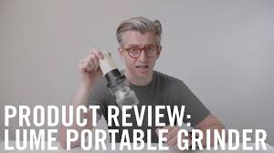 Lume <b>Grinder</b>: Finally a good portable <b>electric grinder</b>? - YouTube