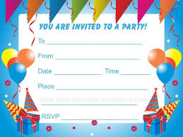 Free Printable Kids Birthday Party Invitations Templates Lasttest ... Free Printable Kids Birthday Party Invitations Templates Lasttest