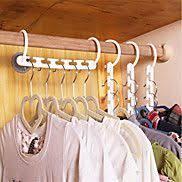 Household Plastic <b>Save Space</b> Non-slip Hangers <b>Multifunction</b> Fold ...