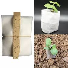 <b>100Pcs</b>/<b>Set</b> Environmental <b>Plant</b>-<b>fiber</b> Seedling-Raising Non-woven ...